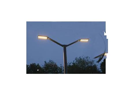 Alumbrado Público Led - Postes Metalicos, Luminarias Led, Luminaria Integrada Solar, Cables Eléctricos, Poste Solar.
